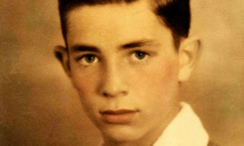writer Jack Kerouac as a child