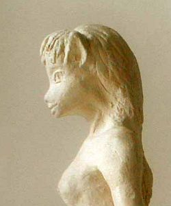 Krelkin in profile. Dream statue by Wayan; click to enlarge.